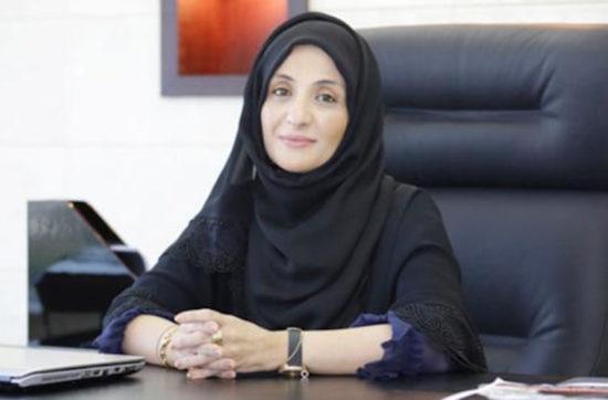 In admiration for a successful Emirati woman Haifa Karmustaji
